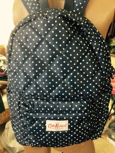 Cath Kidston Pack Pack Polka Dots Blue Nylon Backpack https://t.co/6imzDx4CbW https://t.co/kZiq7b9jrT