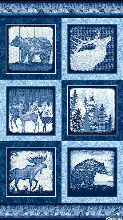 Alpine Woods - Embellished Wildlife - 24