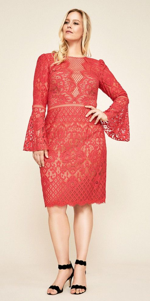 21 Plus Size Wedding Guest Dresses with Sleeves  Plus Size Dresses  Plus Size Fashion for Women