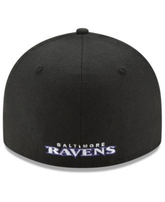 172d887e193 New Era Baltimore Ravens Team Basic Low Profile 59FIFTY Fitted Cap - Black  7 5 8