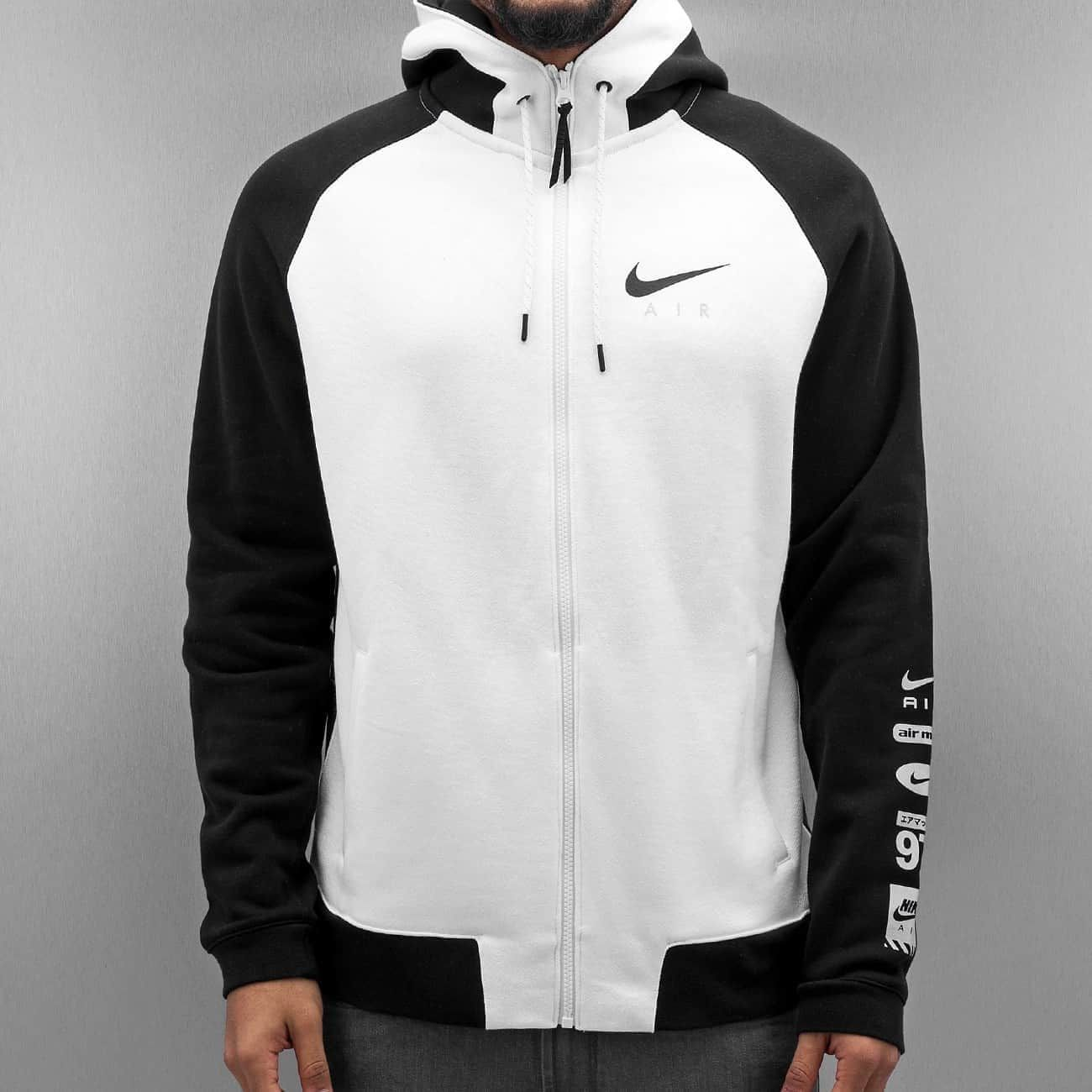 Nike Yläosat | NSW FZ BB Air HYB Vetoketjuhupparit | musta 295831