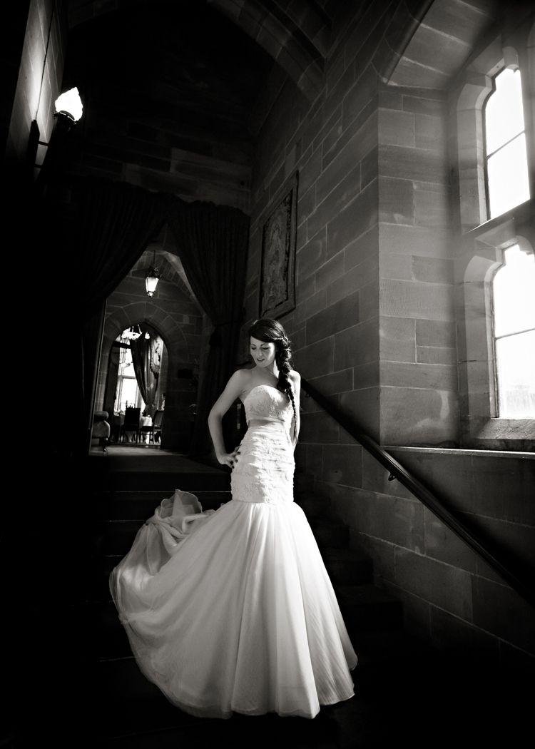 Harry potter wedding dress  Dramatic Rich Rustic Harry Potter Wedding hbaphotography