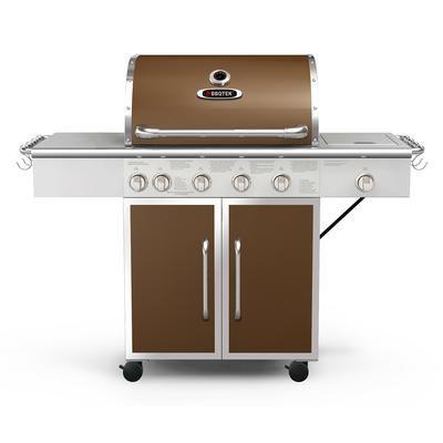 bbqtek 75 000 btu six burner lp gas grill with rotisserie searing rh pinterest com