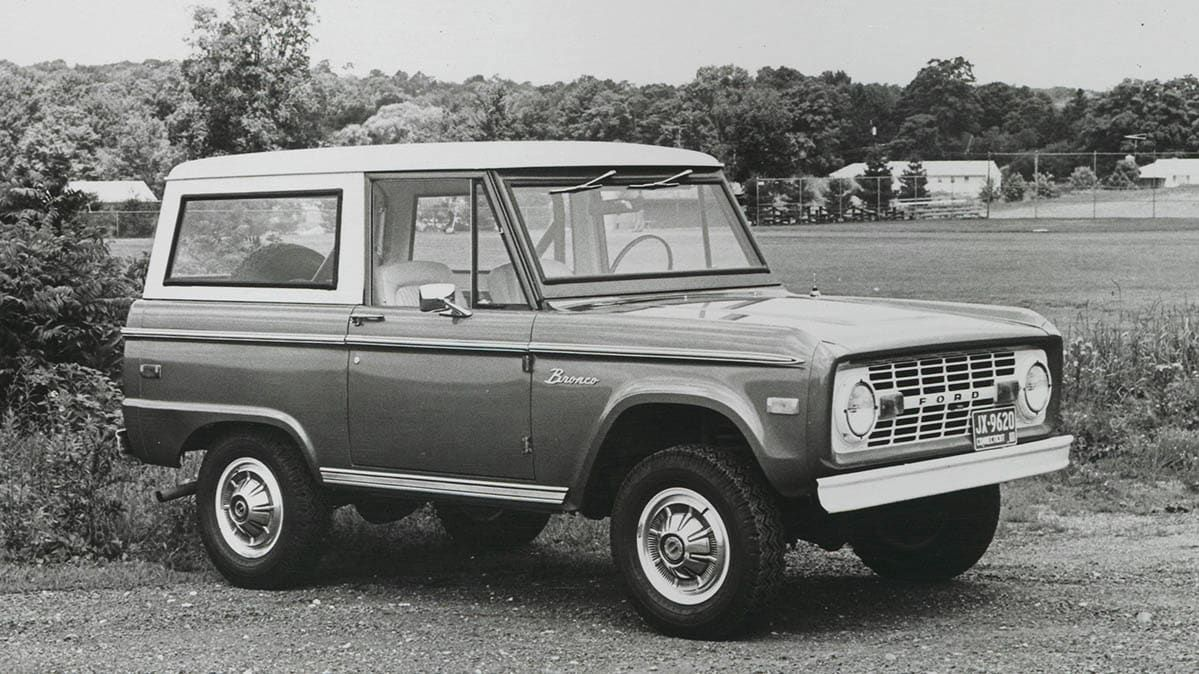 The Ford Bronco Through the Years in 2020 Ford bronco