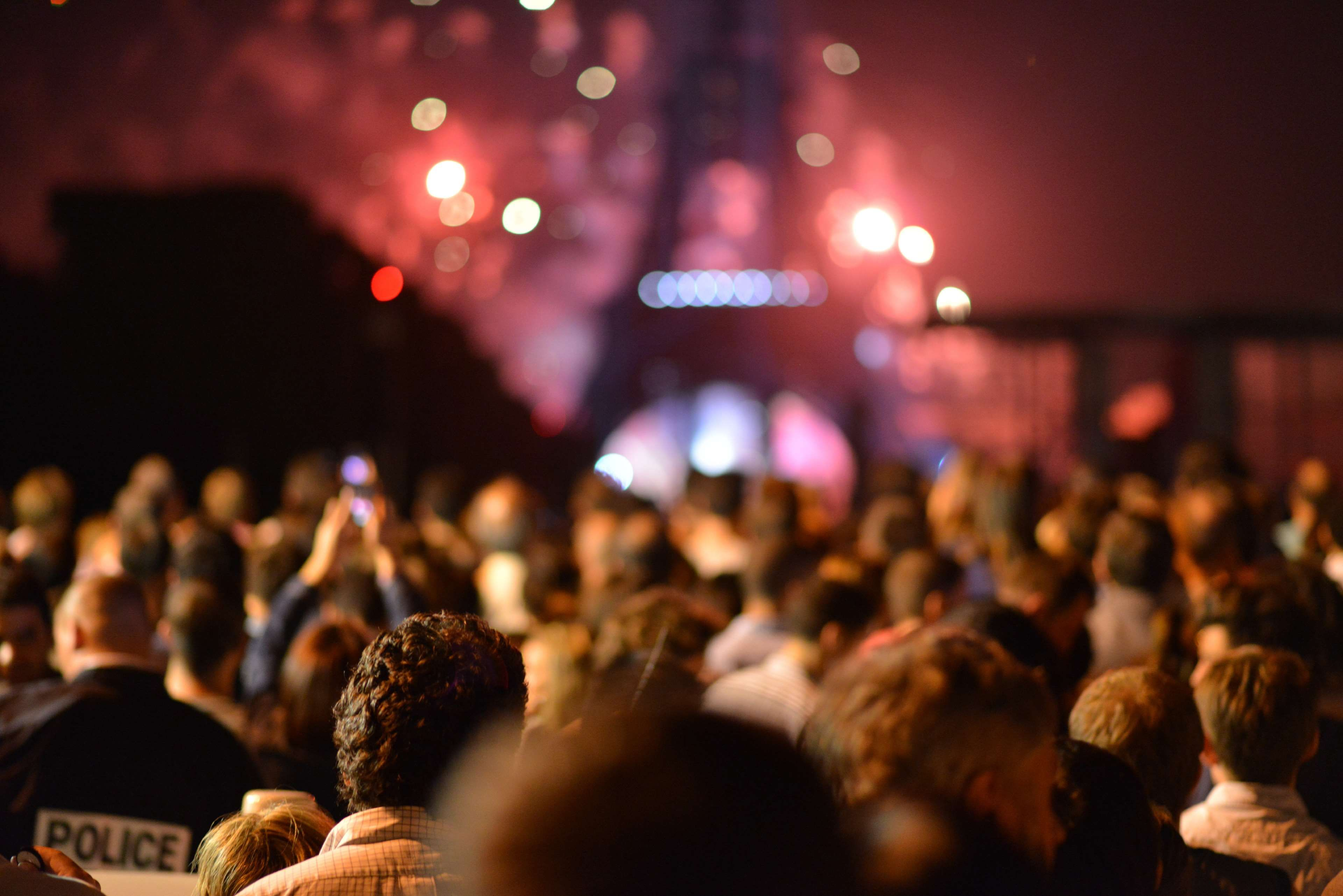 Blur Community Crowd Eiffel Tower Event Festival Hd Wallpaper Lights Night Paris Party Event Management Corporate Events Event Management Software