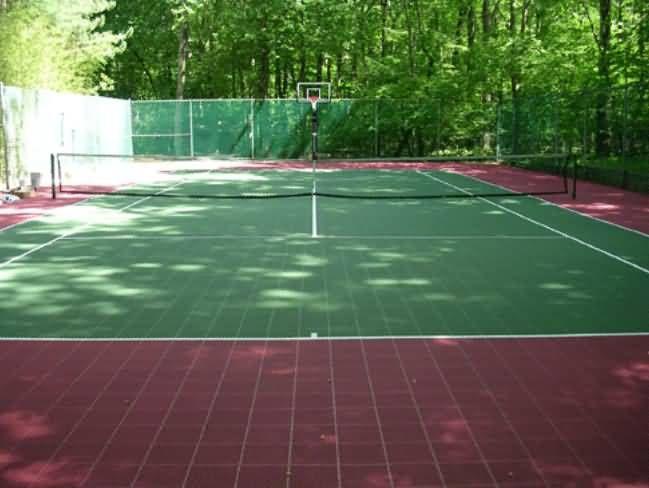 101 Tennis Courts 0014 Jpg 649 488 Outdoor Basketball Court Tennis Court Backyard