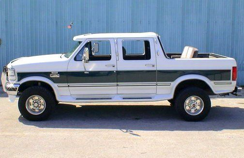 Anyone Rember The Ford Centurion A Four Door Conversion Of The F Series Crew Cab By Michigan Based Centurion Ve Ford Trucks Ford Bronco Ford Suv