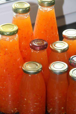 Chili-Sauce - Rezept mit Bild