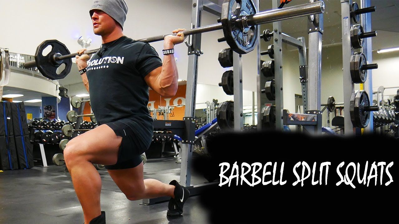 HOW TO: BARBELL SPLIT SQUAT