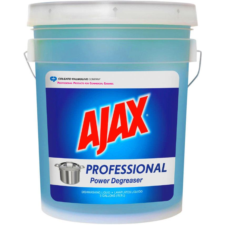 Ajax Dish Detergent Gets Dishes Sparkling Clean 5 Gal Ajax With Images Dish Detergent Degreasers Citrus Scent