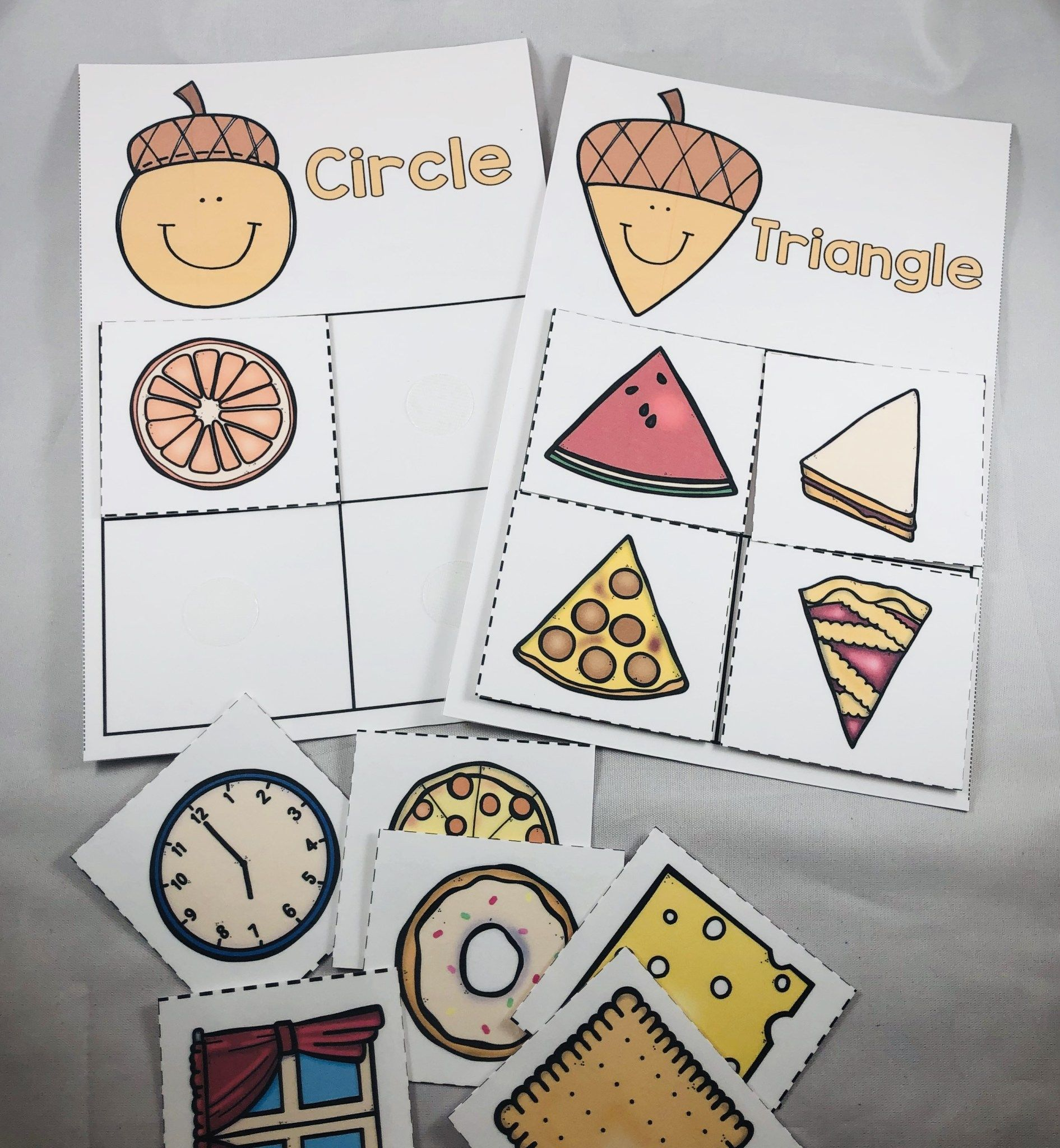 Preschool Acorn Activities For Fall These Engaging Math
