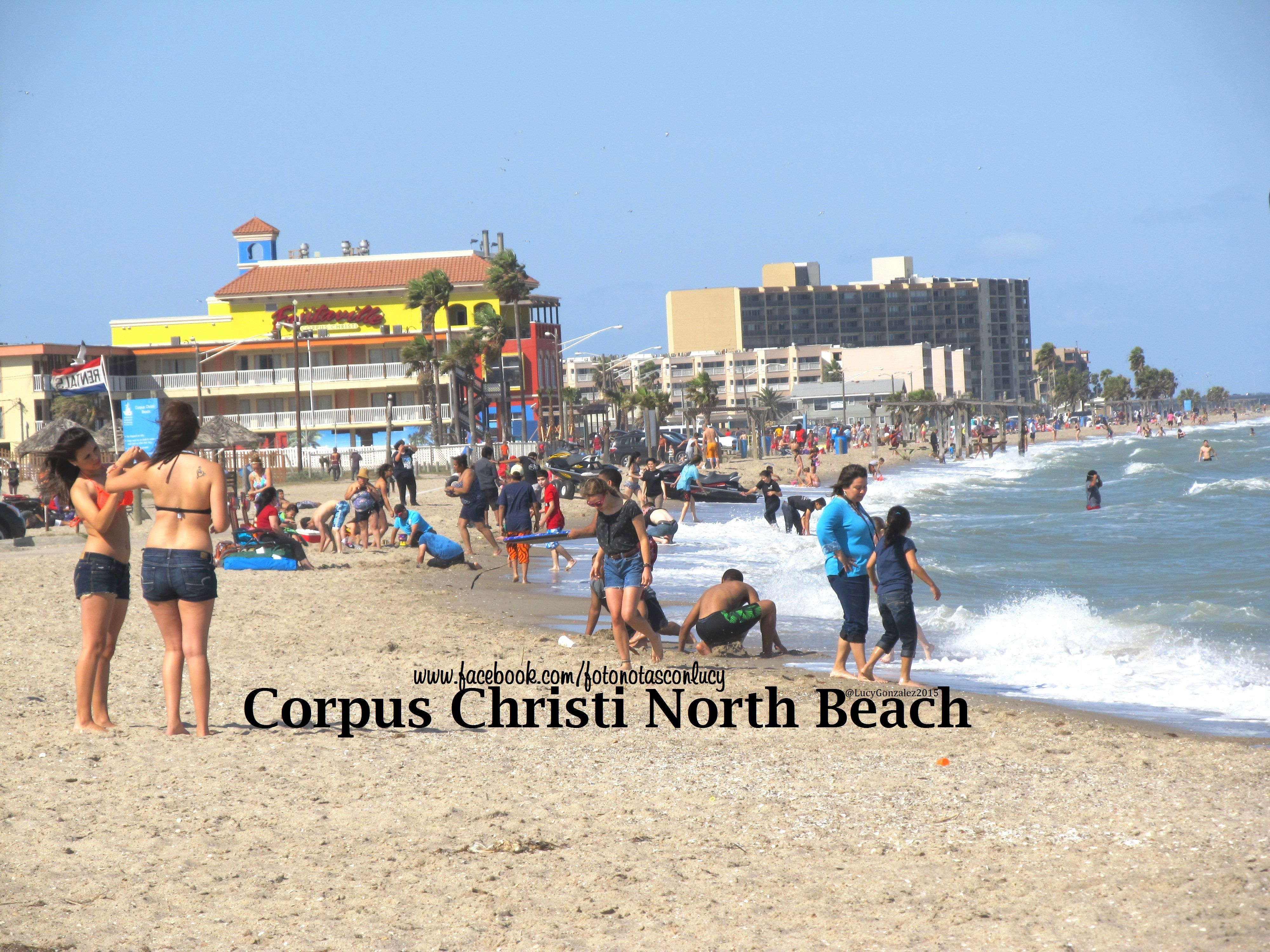 North Beach Corpus Christi Texas Also Known As Rincon Point A Section Of Located On The End City