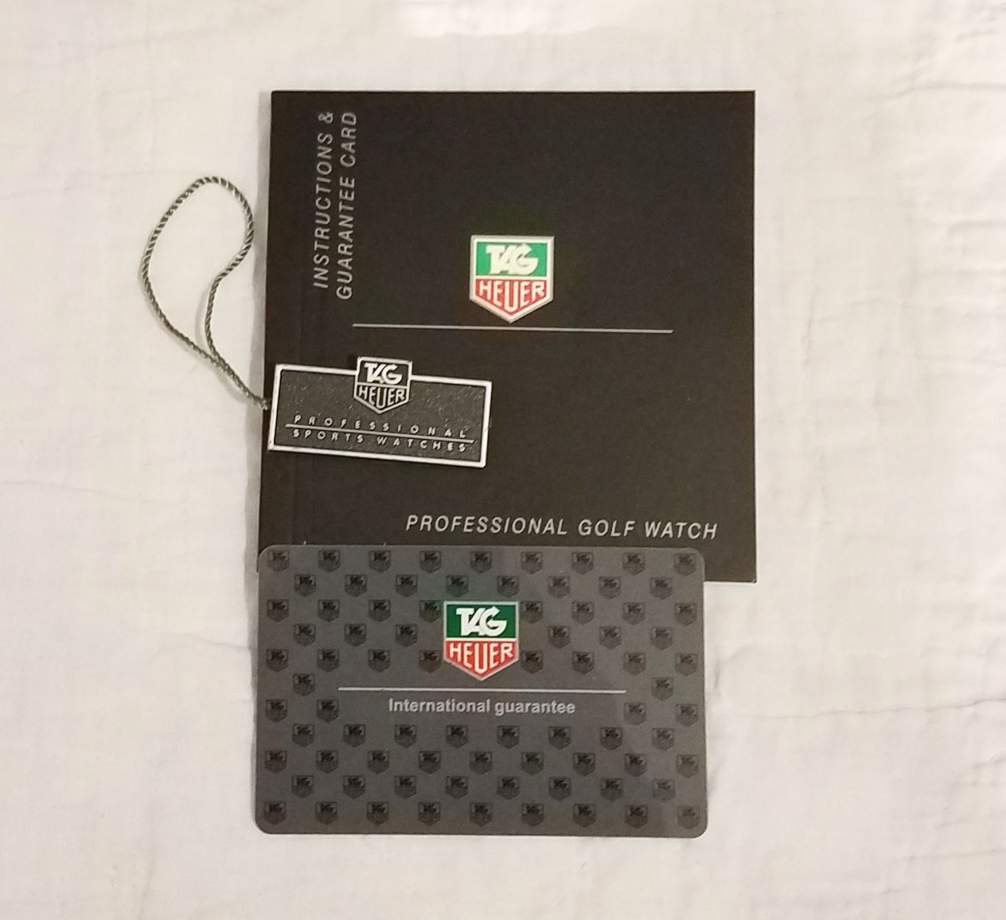 Manuals And Guides 93720 Tag Heuer Professional Golf Watch