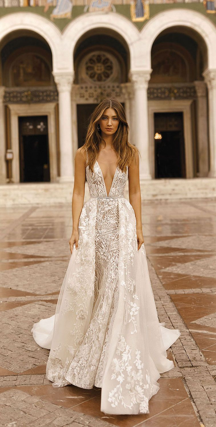 BERTA Wedding Dresses Fall 2019 - Athens Bridal Collection, wedding dresses 2019 , long sleeves wedding dress, mermaid wedding gown #weddingdress #weddinggown #weddingdresses