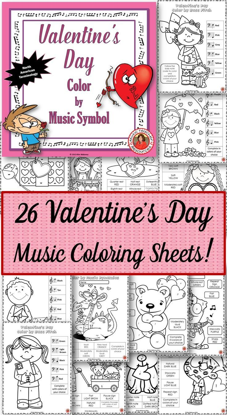 color by music notes and symbols 26 coloring pages consist of 24