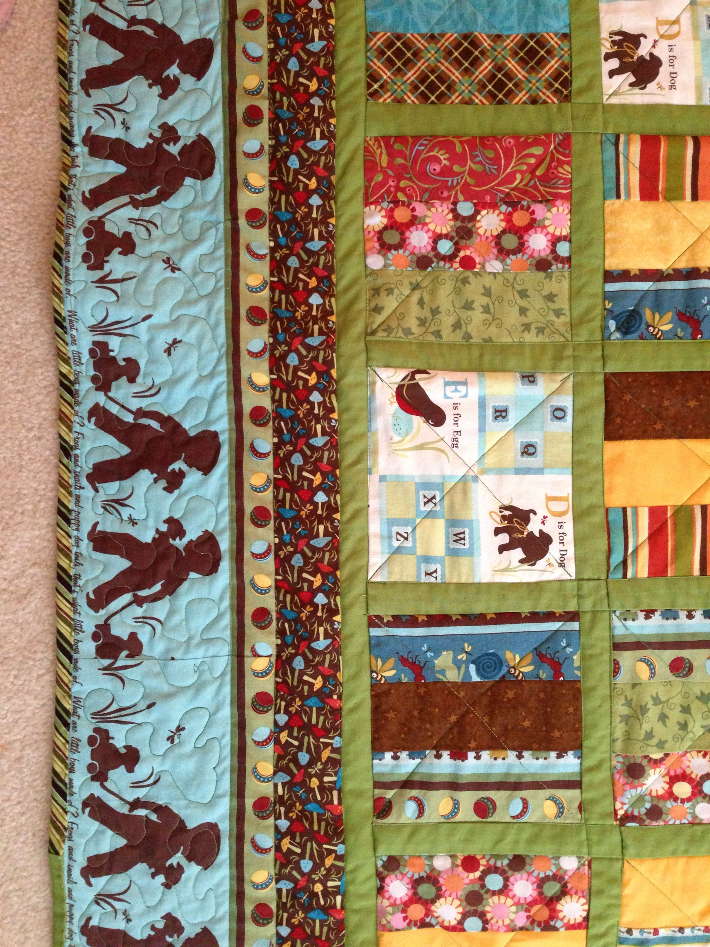 What Are Little Boys Made Of Quilt