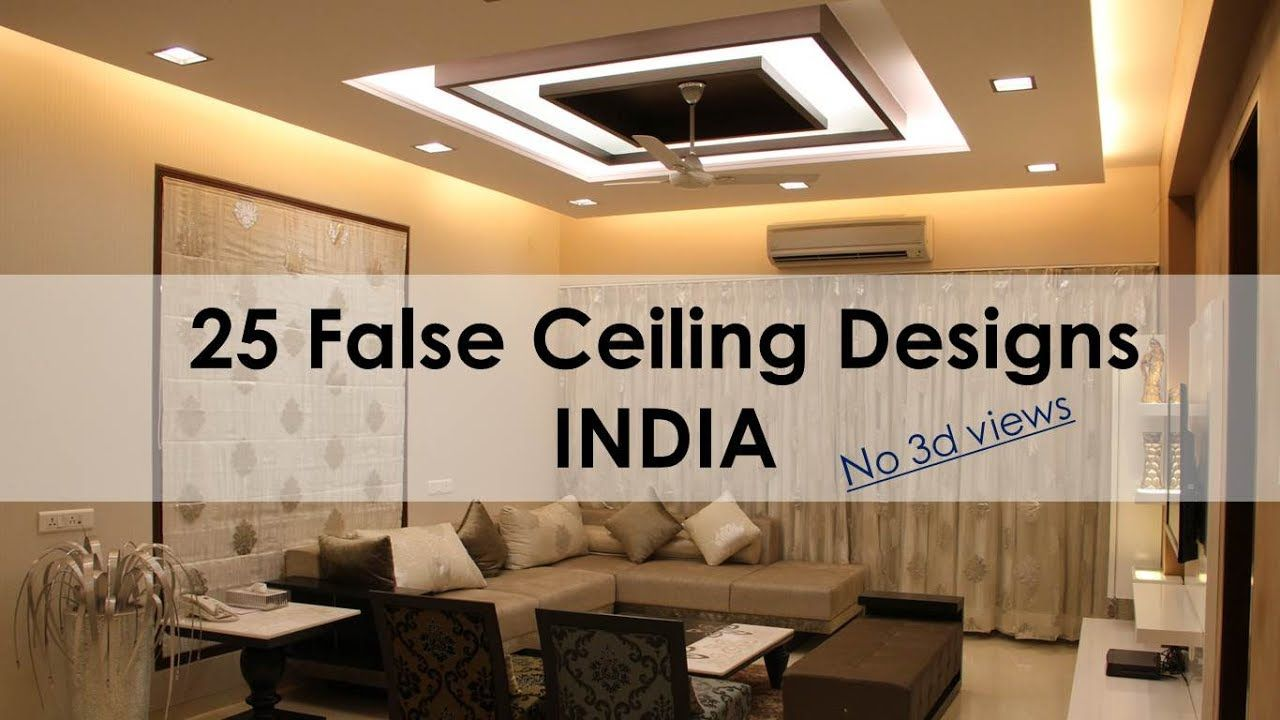76 Best Of False Ceiling For Living Room With Two Fans ...