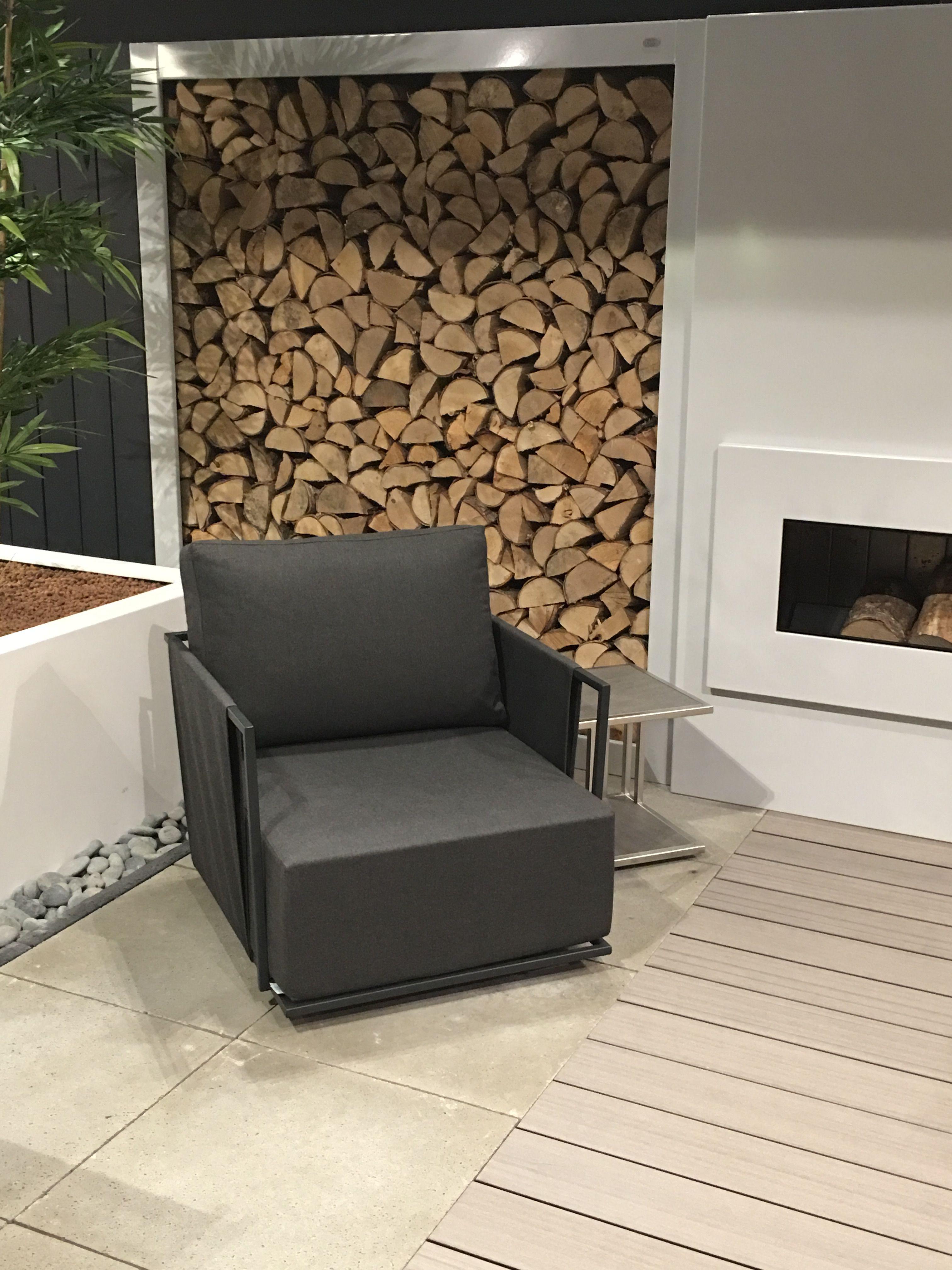 Showroom HaWé Outdoor Fisher Möbel #lounge #chair #buitenhaard ...