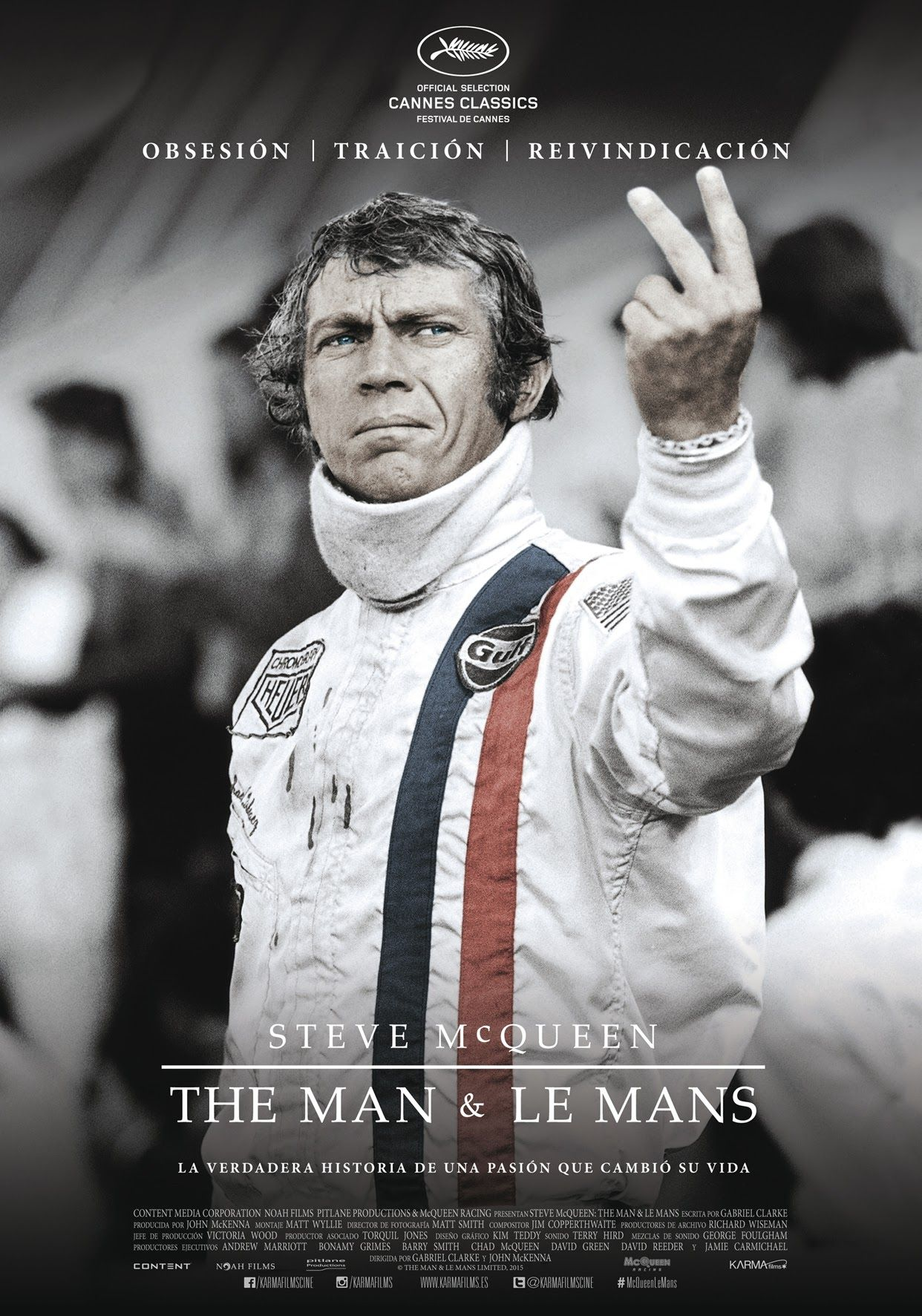 ec5436f165 Steve McQueen  The Man   Le Mans