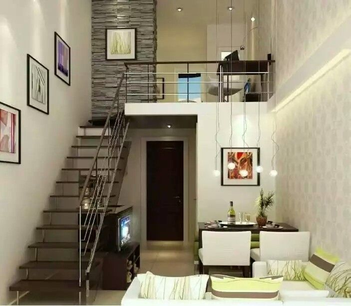 32 Floating Staircase Ideas For Contemporary Home: Pin By Rayzy Besana On Small Space Ideas