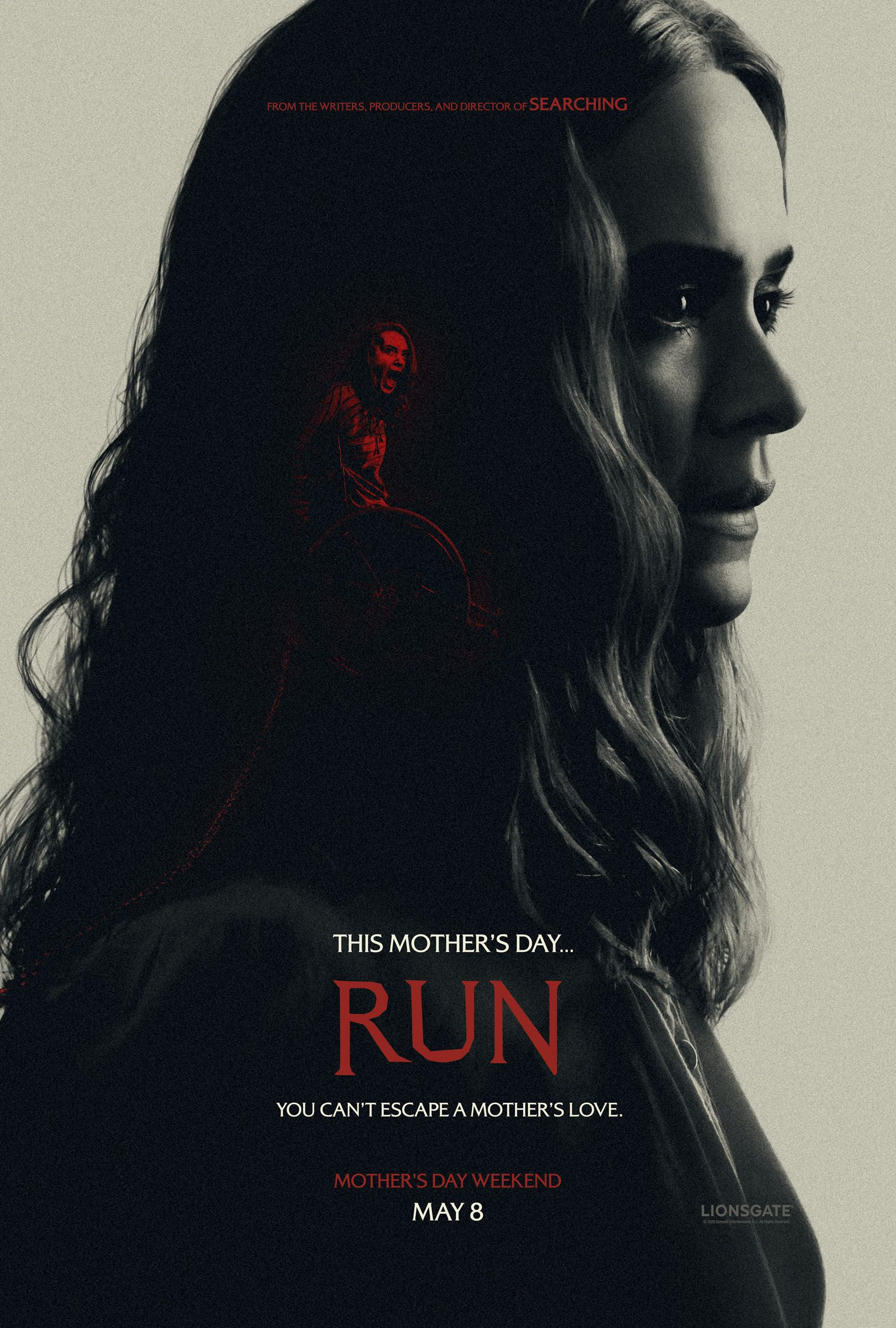 See Sarah Paulson As The Mom Of Your Nightmares In Chilling Run Trailer In 2020 Run Film Mothers Day Weekend Thriller