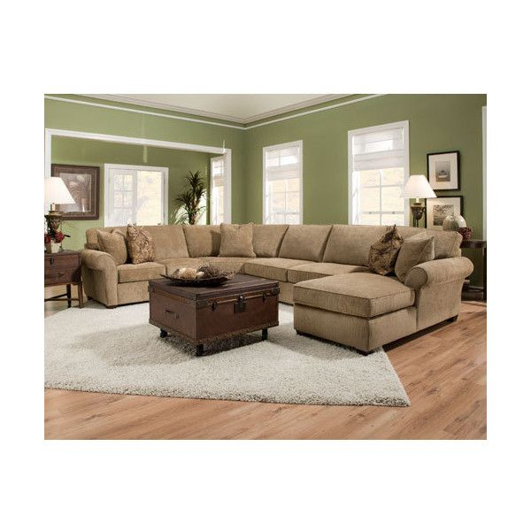 Bauhaus Usa Kivett Lause Desert Sectional Sofa 3 518 Liked On Polyvore Featuring Home Furniture Sofas