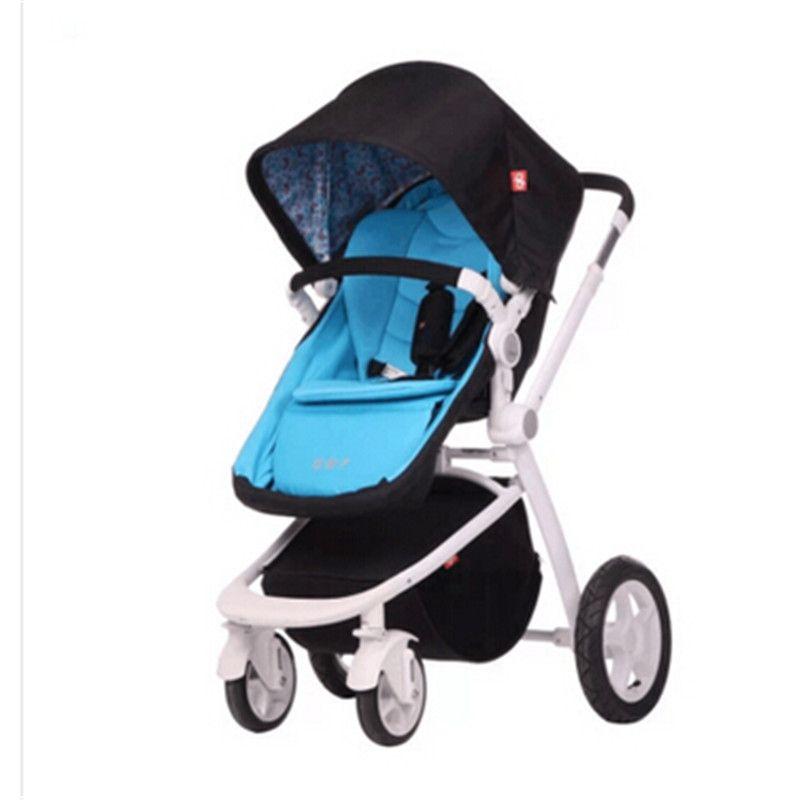 Foldable baby stroller 2 Pneumatic Wheel 2 EV… | Best baby ...