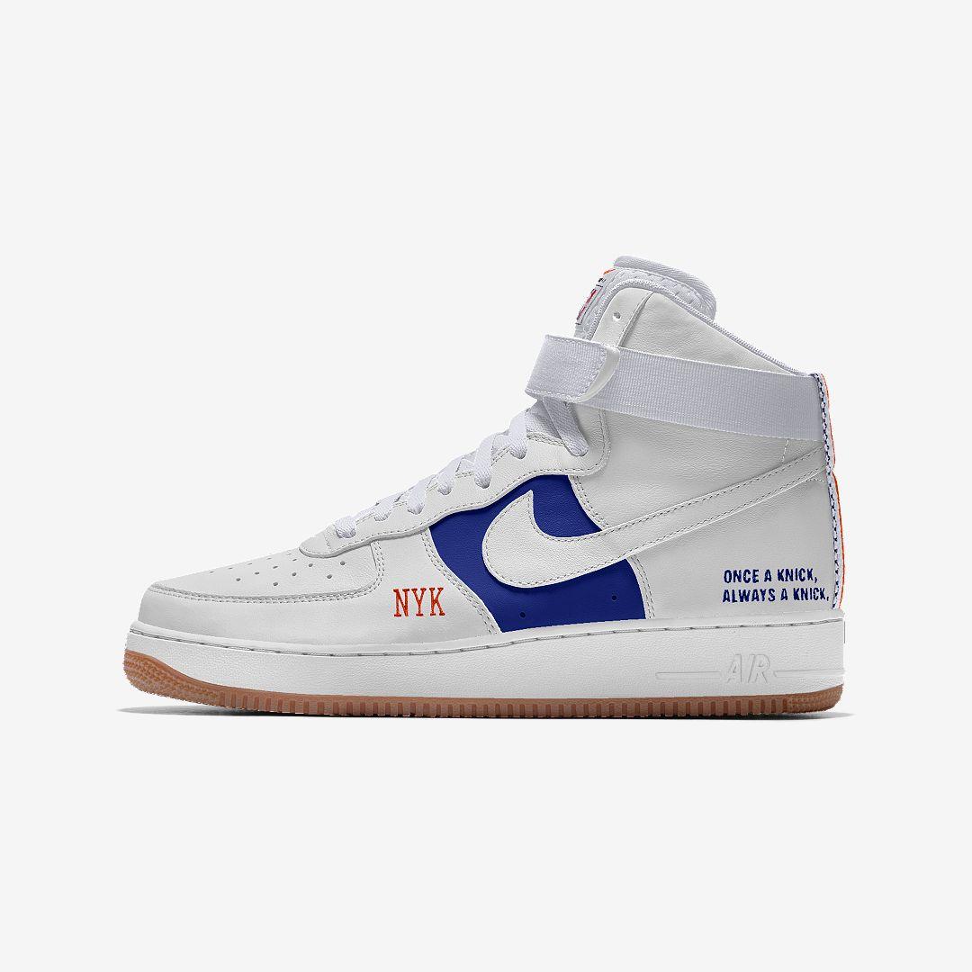 Nike Air Force 1 Low Premium iD (New York Knicks) Men's Shoe