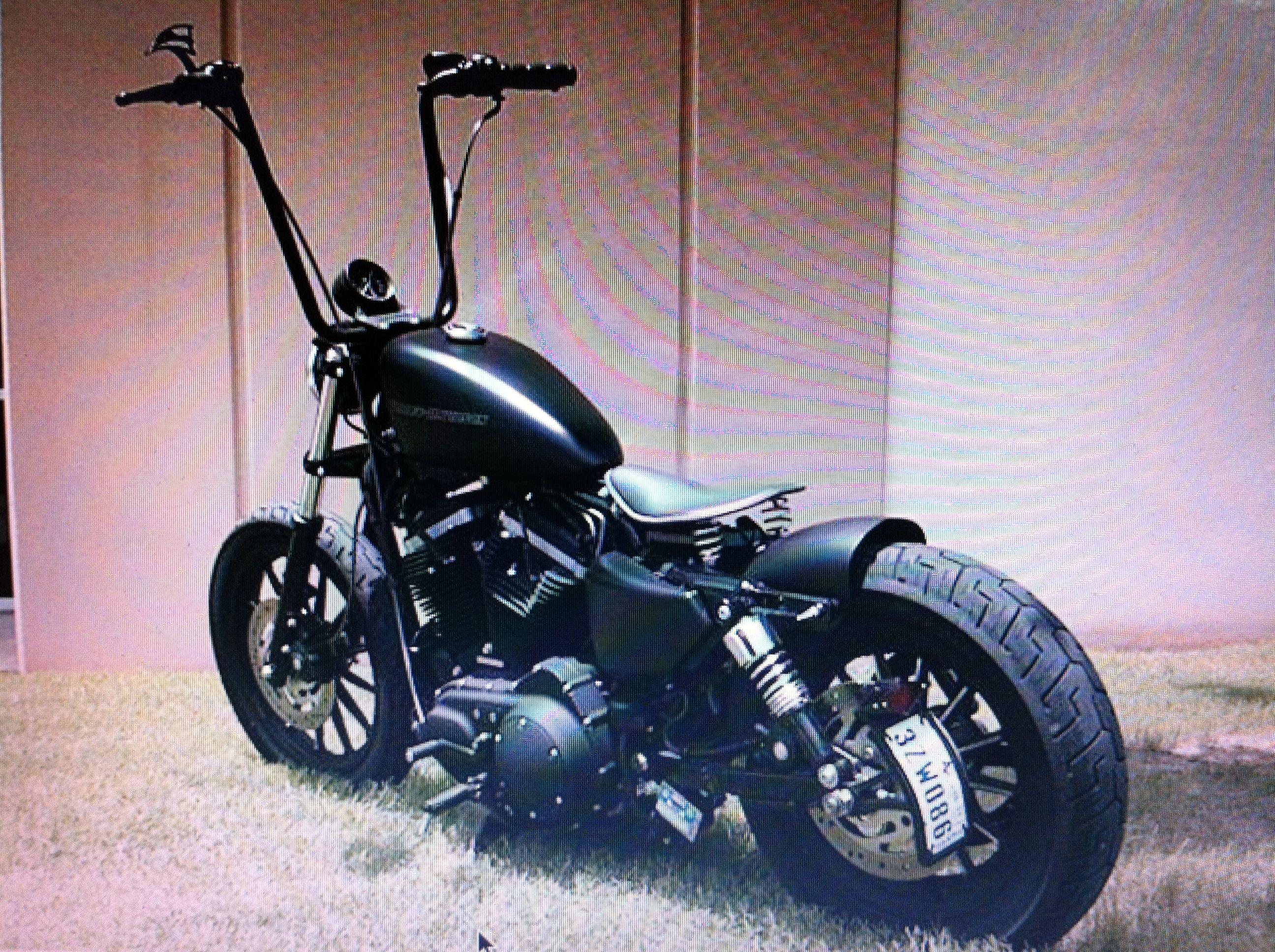 Harley Sportster Bobber | Bobbers | Pinterest