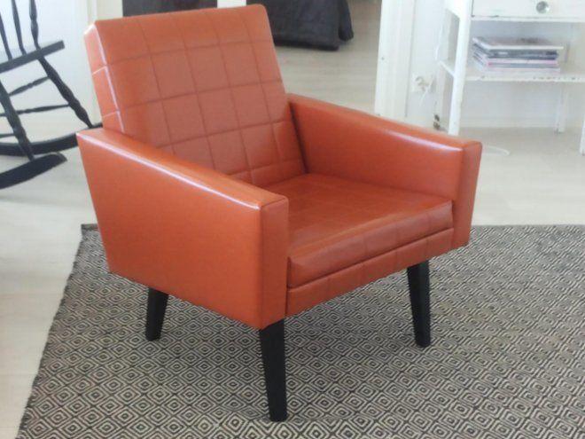 Nojatuoli 60-70-luvulta