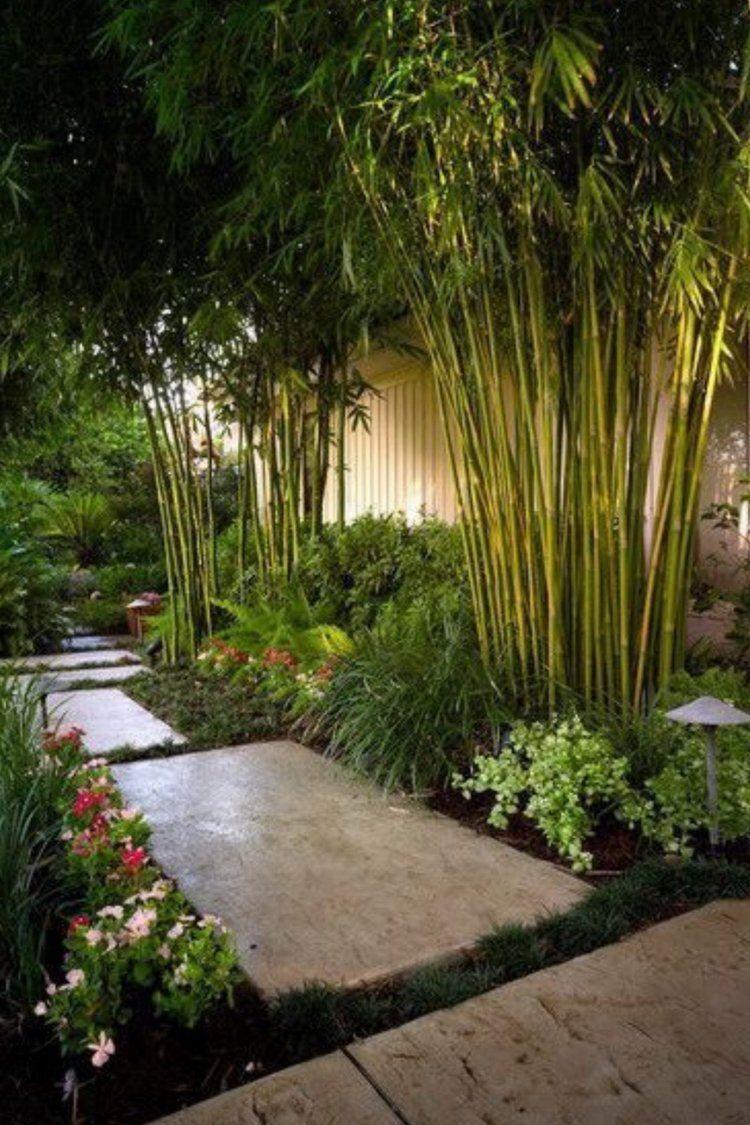 Bamboo Oriental Restaurant - Zen Garden  Bamboo  Garten Tür