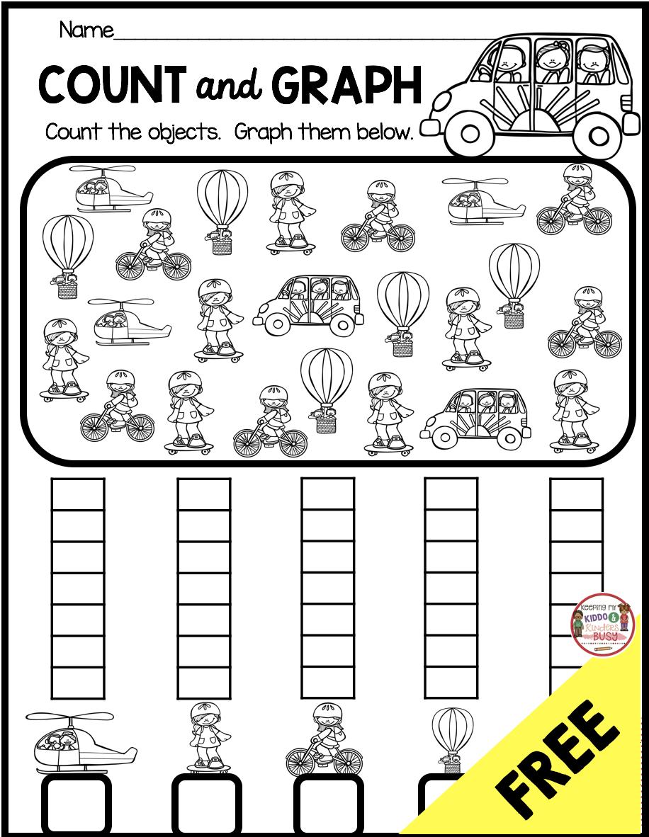 Measurement And Data Kindergarten Math Unit Freebies Keeping My Kiddo Busy Kindergarten Math Games Kindergarten Worksheets Free Printables Graphing Kindergarten [ 1182 x 916 Pixel ]