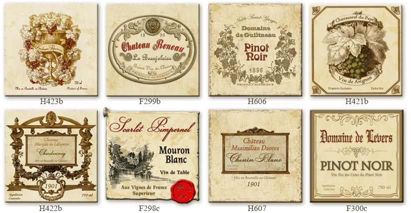 Http Www Eurekaretro Com Vintage Wine Labels 2a Jpg Vintage Wine Label Vintage Packaging French Wine Labels