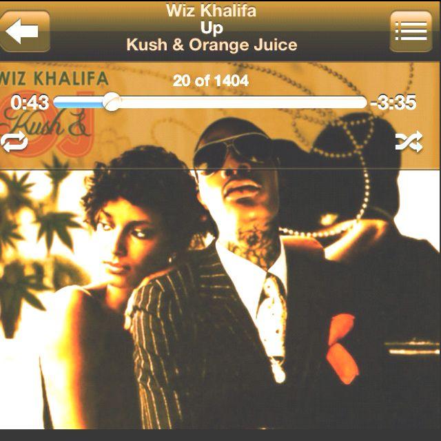 Kush And Orange Juice Wiz