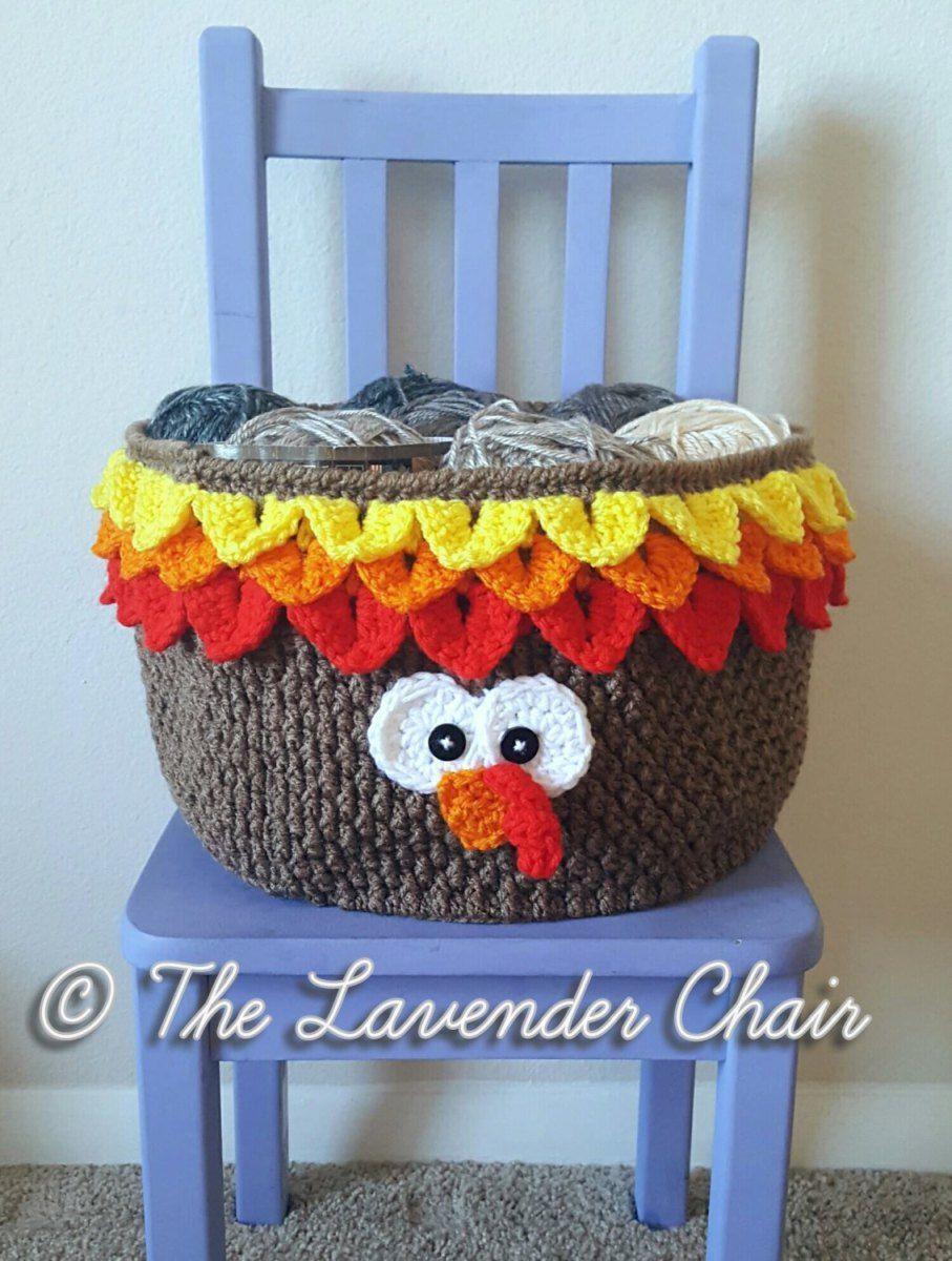 Turkey Basket Crochet Pattern   Pinterest