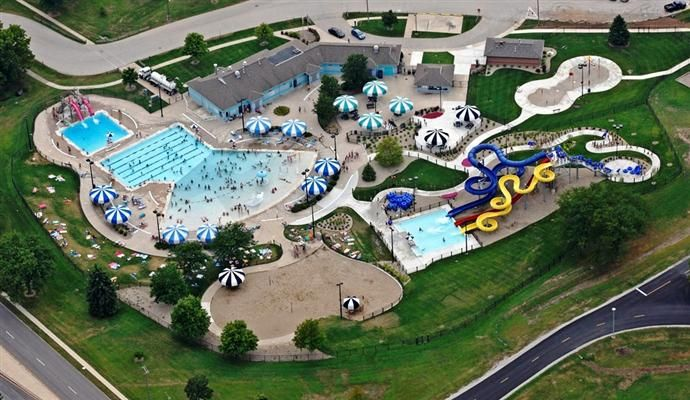 Fairview Family Aquatic Center Normal Il Parks And Recreation Water Park Aquatic