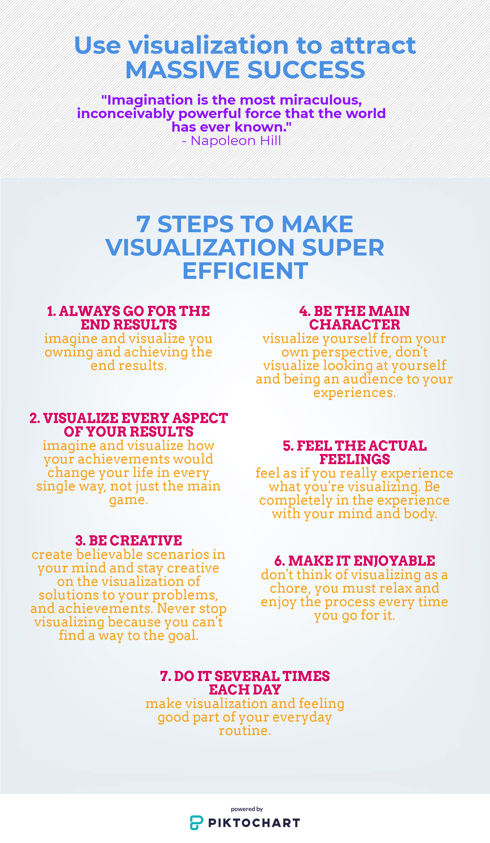 7 Steps To Make Visualization Work And Manifest Your