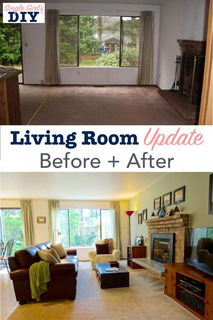 Living Room Update Ideas: Living Room Update: Before + After