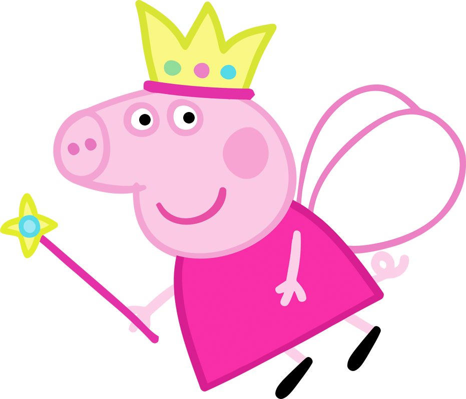 Peppa Pig Fairy Free Party Printables Images And Backgrounds Peppa Pig Images Peppa Pig Wallpaper Peppa Pig Painting