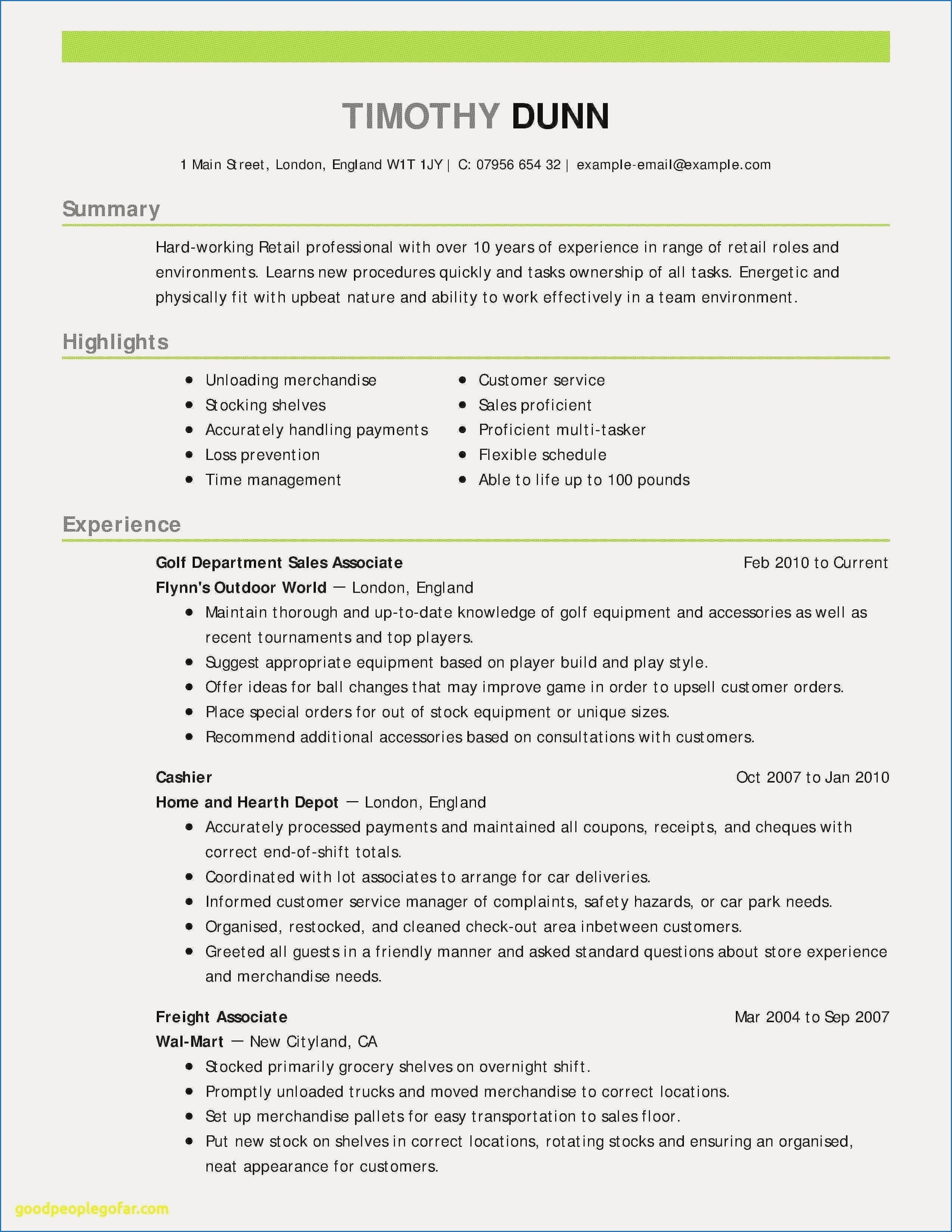 11 Sample Resume For Highschool Graduate Without Experience Check More At Https Www Ortelle Org Sample Res Resume Examples Resume Skills Good Resume Examples