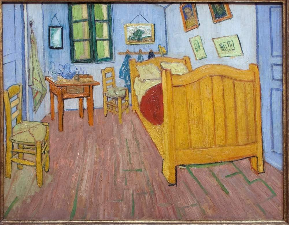 vincent van gogh la chambre coucher 1888 art pinterest vincent van gogh le chambre et. Black Bedroom Furniture Sets. Home Design Ideas