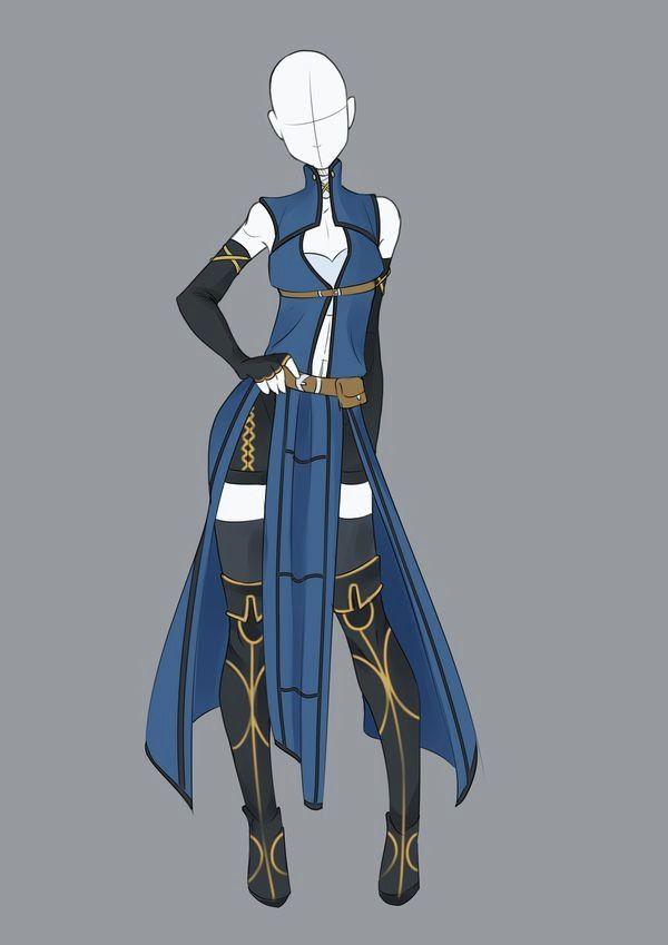 Ninja Outfit 3 Comment Dessiner Des Vetements Croquis De