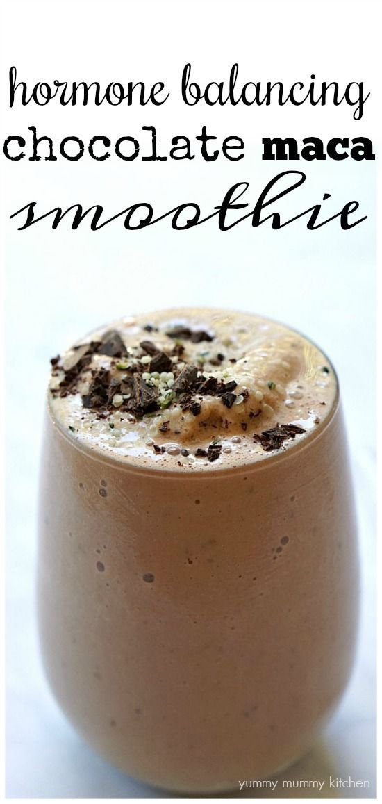 maca smoothie recept