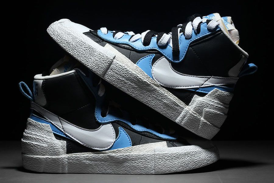 Sacai x Nike Blazer Mid in Two Color