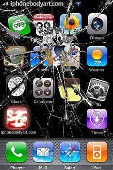 Cracked Screen Prank!! Cracked screen, Iphone repair