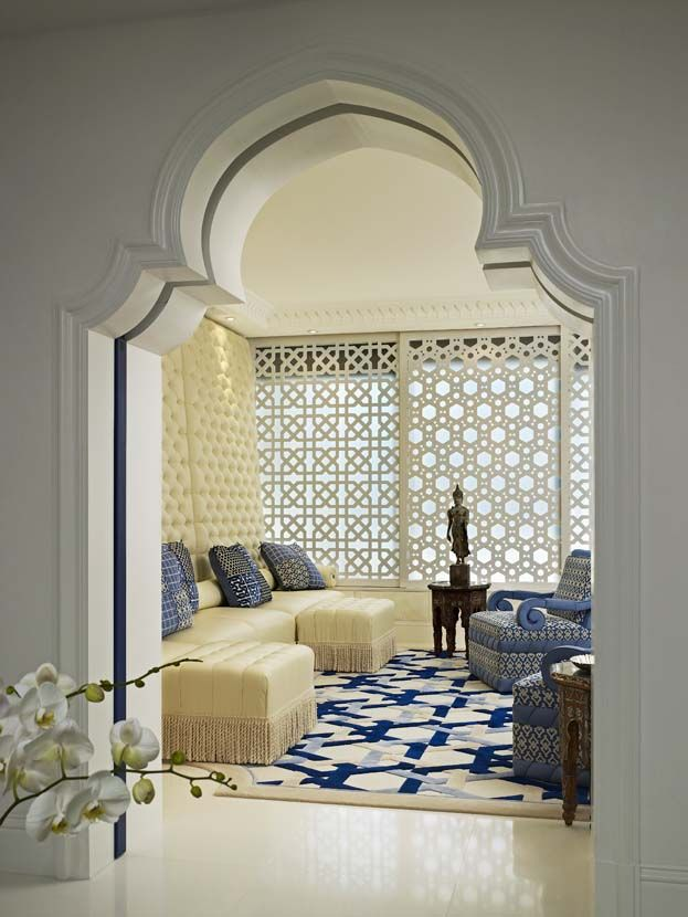 Geoffrey bradfield luxury interior design moroccan for Interior designers palm beach
