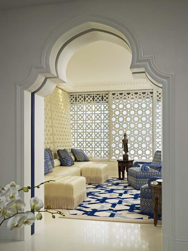 geoffrey bradfield luxury interior design moroccan moderne palm