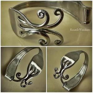 Fork Bracelet. DIY | Fork bracelet, Cuff bracelet, Jewelry ...