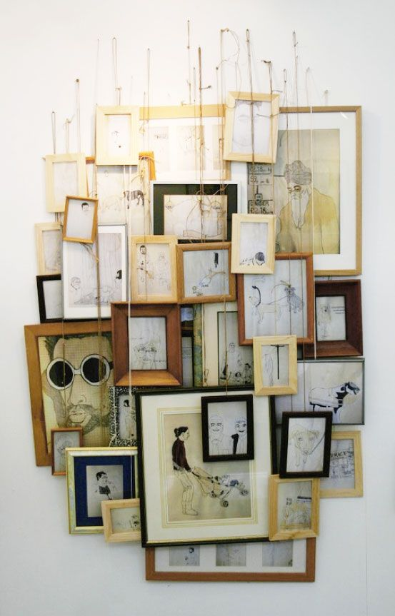 Bunched Hanging Wall Of Art Conal Deeney Http Conaldeeneyilration