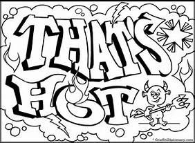 Graffiti Color Pages - AZ Coloring Pages | Drawings | Coloring pages ...